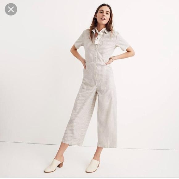 421b238a70 Madewell Pants - Madewell wide leg utility jumpsuit. Large 8 10